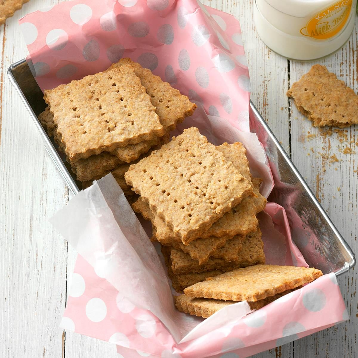 Homemade Honey Grahams