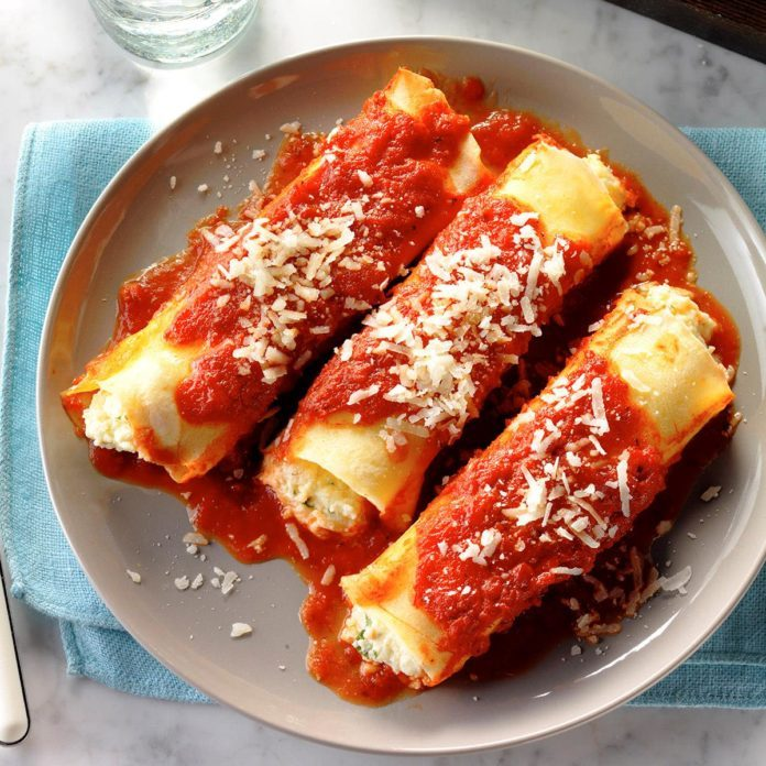 Day 9: Homemade Manicotti