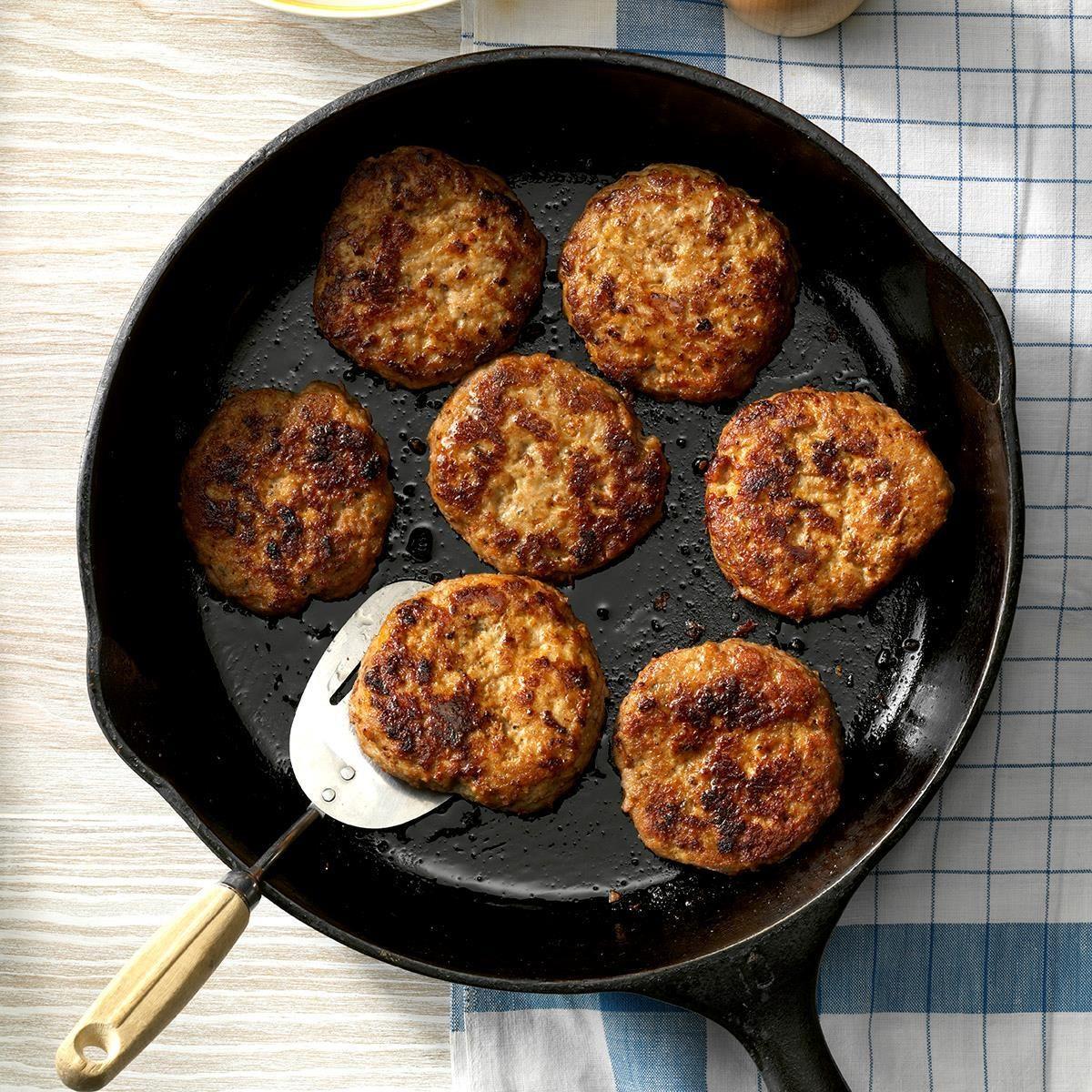 Homemade Sage Sausage Patties Recipe