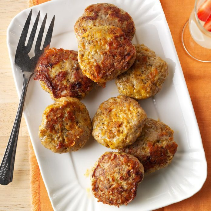 Homemade Sage Sausage Patties