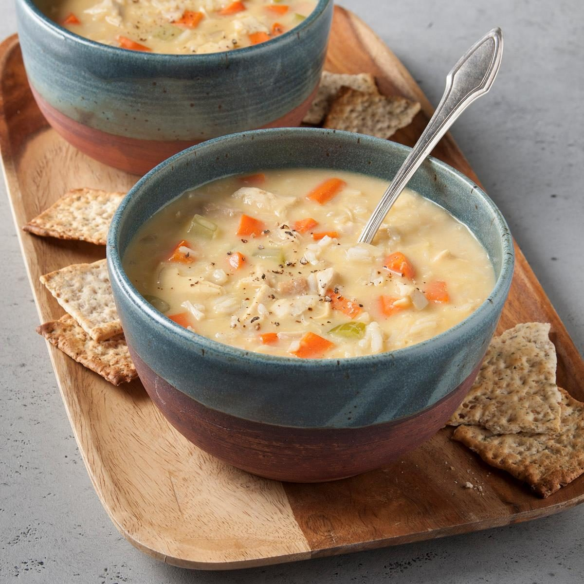 Homemade Turkey Soup Recipe How To Make It Taste Of Home