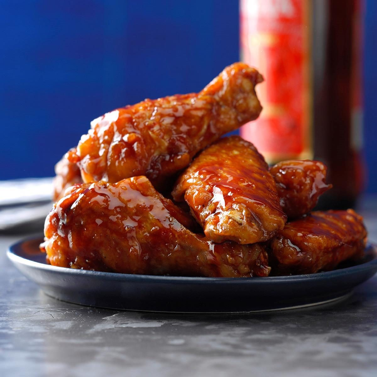 Honey Barbecue Chicken Wings Recipe Taste Of Home
