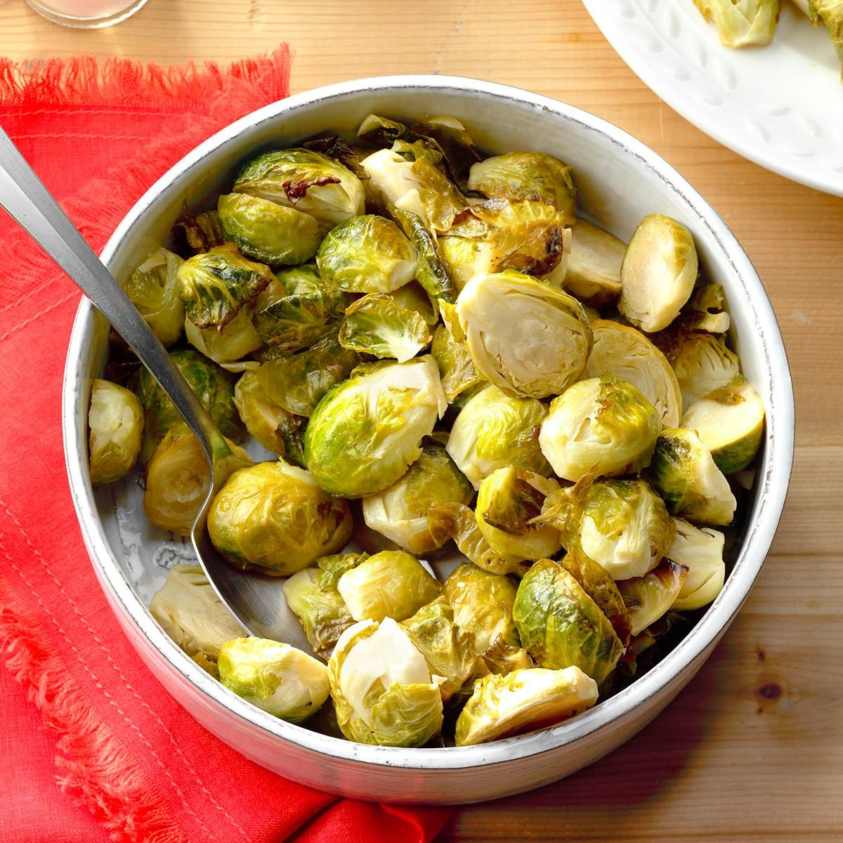 Honey garlic Brussels Sprouts