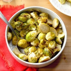 Honey-Garlic Brussels Sprouts