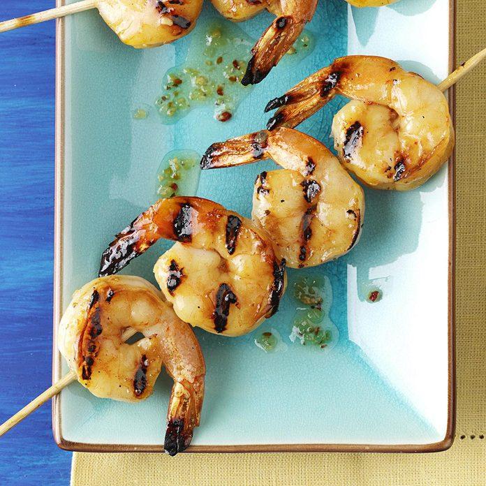 North Carolina: Honey Grilled Shrimp