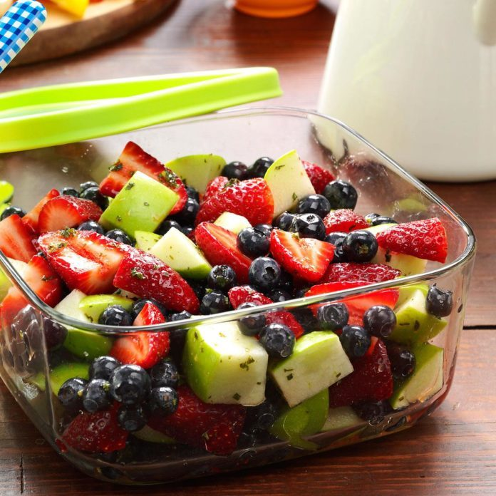 Honey-Lime Berry Salad