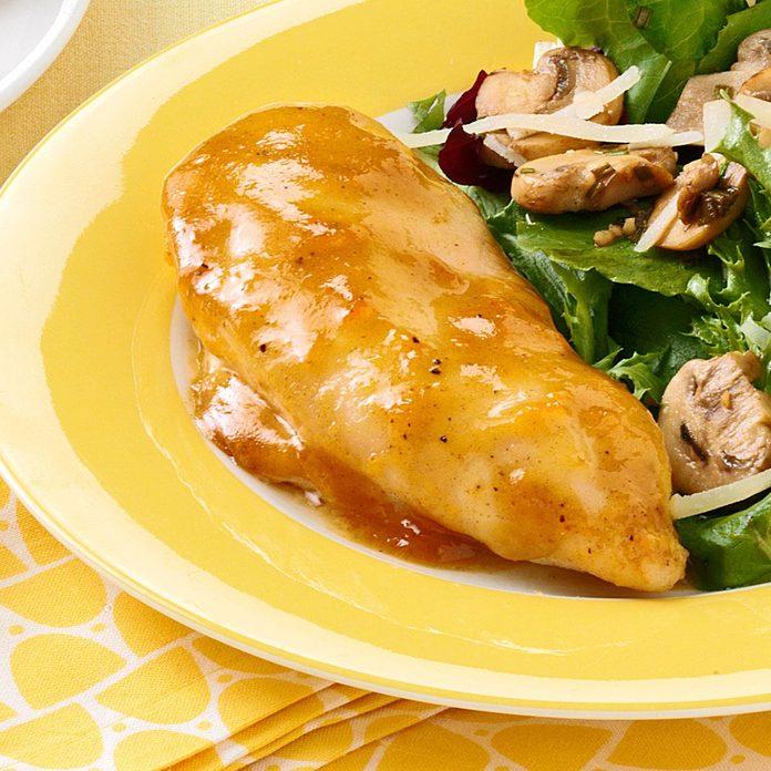 Honey-Mustard Apricot Chicken