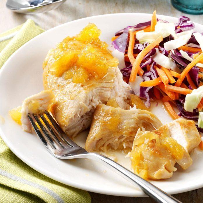 Honey Pineapple Chicken
