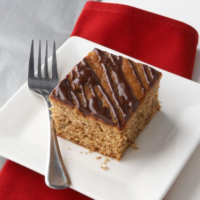 Honey and Spice Snack Cake