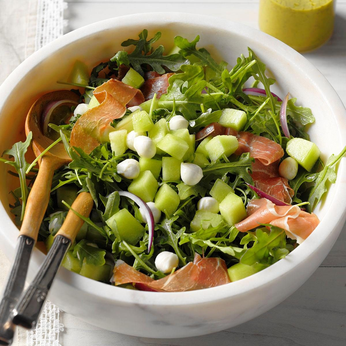 Honeydew & Prosciutto Salad