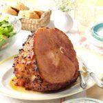 Horseradish-Glazed Ham