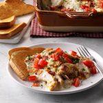 Hot Brown Turkey Casserole