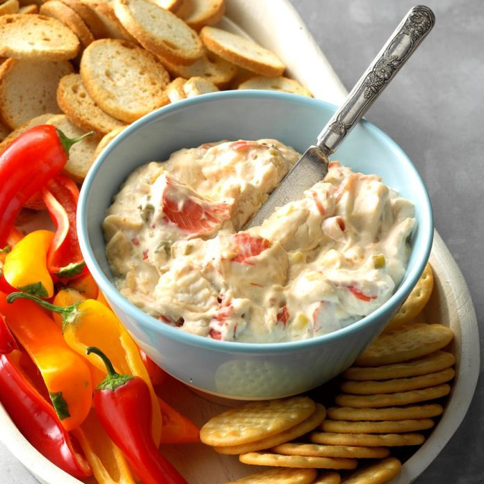 Appetizer Course: Hot Crab Dip