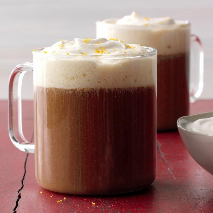 Hot Ginger Coffee