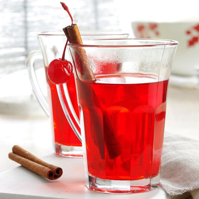 Hot Spiced Cherry Cider