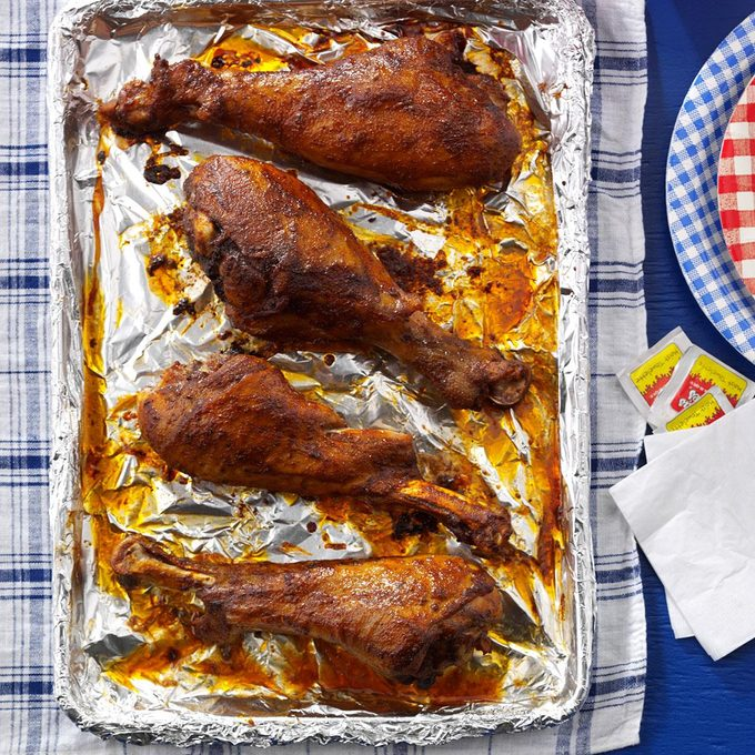 Hot & Spicy Turkey Legs