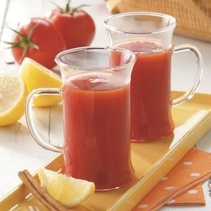 Hot Tomato Drink