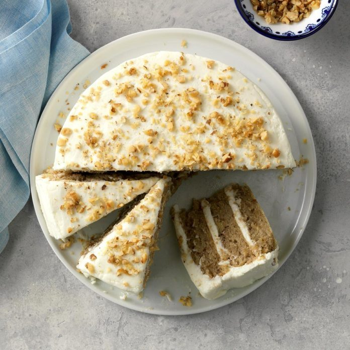 New Jersey: Hummingbird Cake