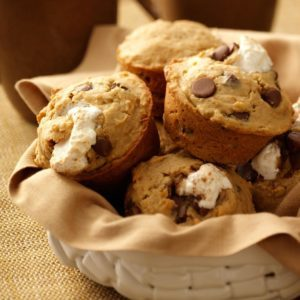I Want S'more Muffins