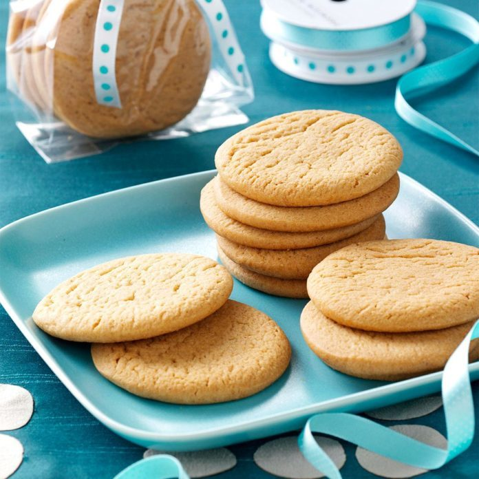 Icebox Honey Cookies