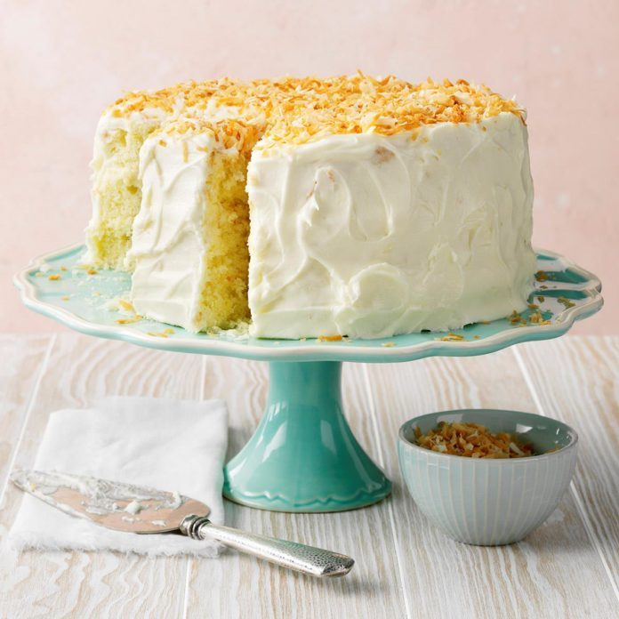 Pennsylvania: Incredible Coconut Cake