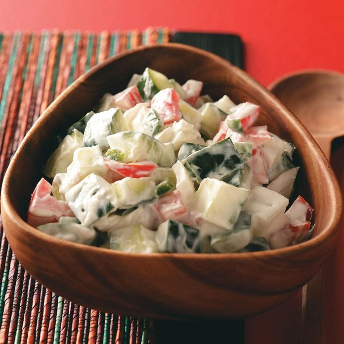 Indian Cucumber Salad