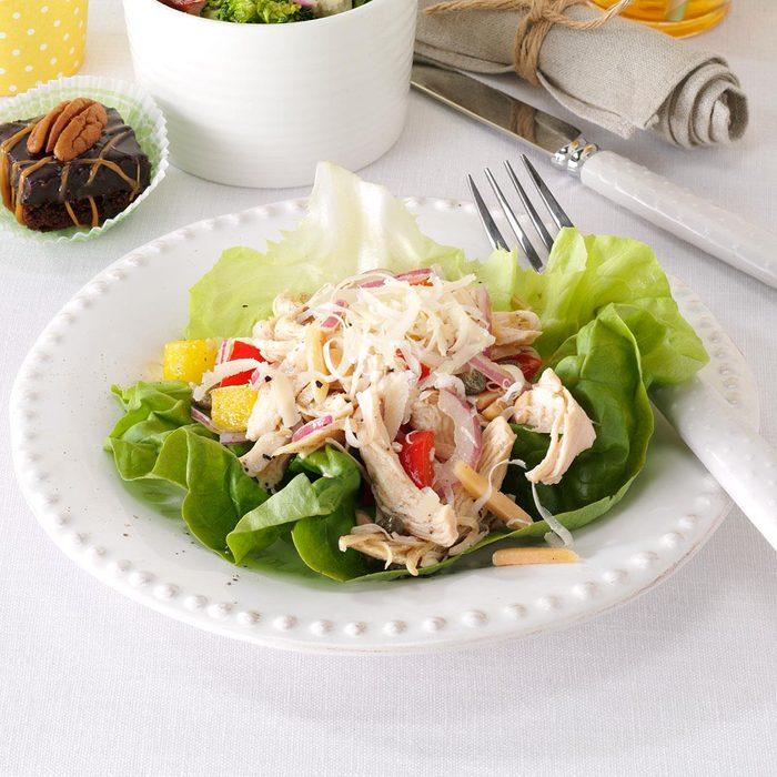 Italian Chicken Salad Cups
