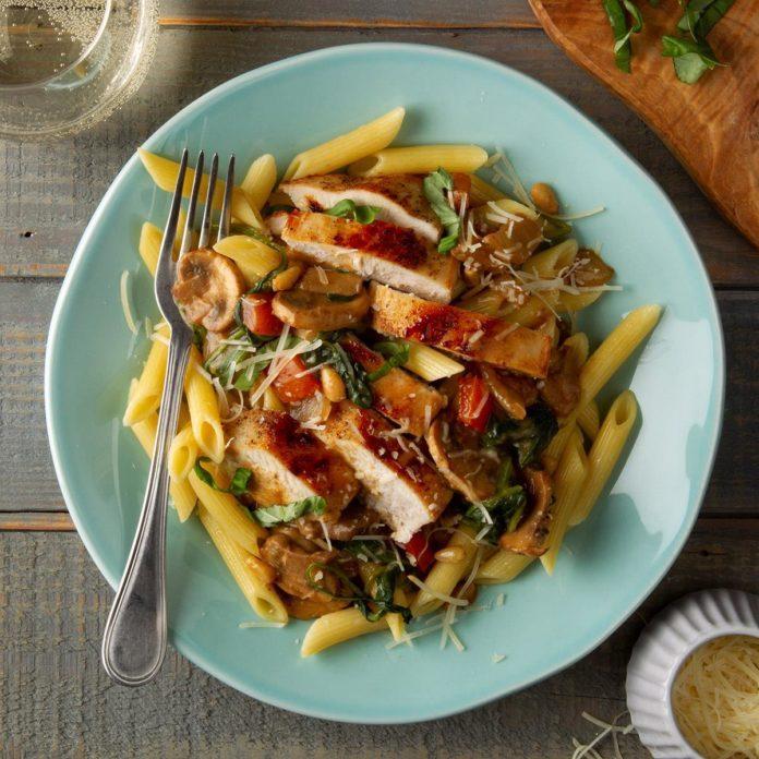 Italian Chicken Skillet Supper