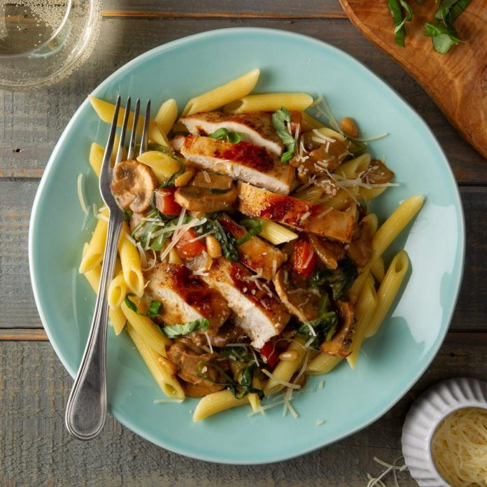 Italian Chicken Skillet Supper Exps Ft20 39612 F 0207 1 4