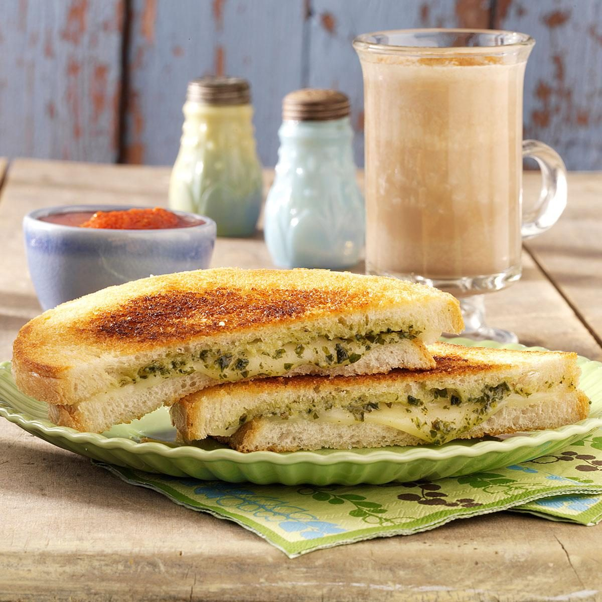 Italian Grilled Cheese Sandwiches