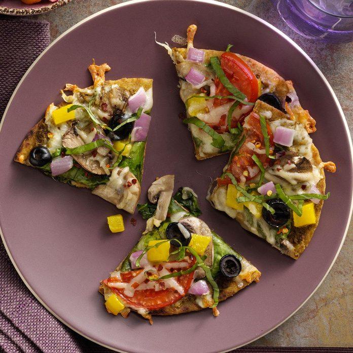 Italian Pesto Pizzas