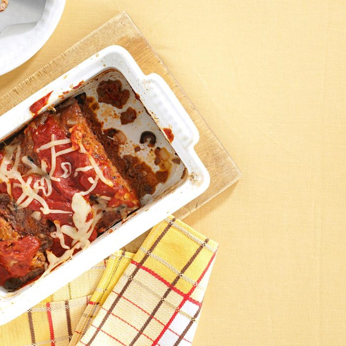 Italian Pizza Meat Loaf