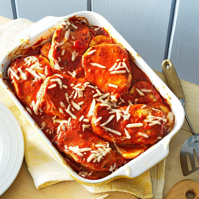 Italian Pork and Potato Casserole