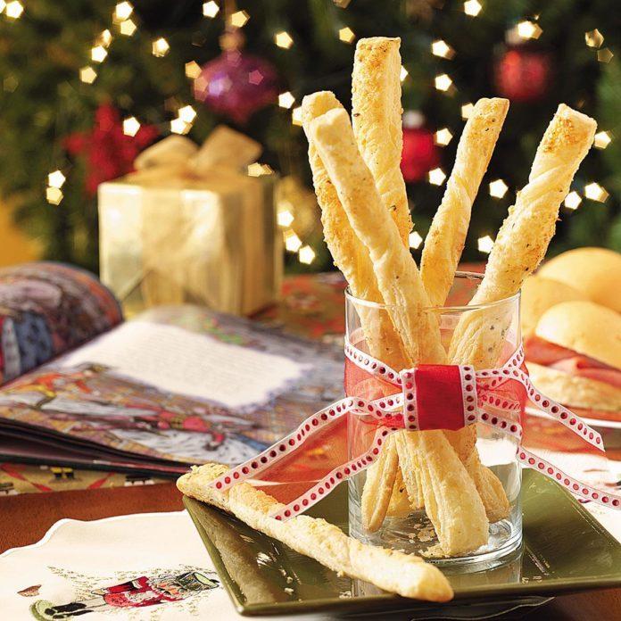 Italian Puff Pastry Twists