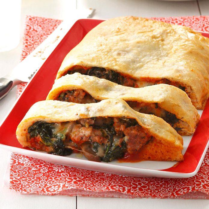 Italian Sausage Calzone