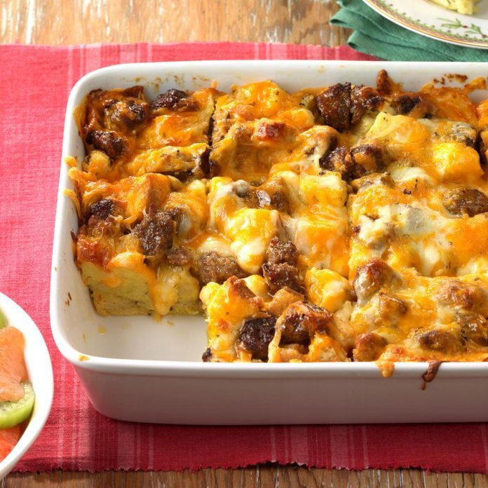 New York: Italian Sausage Egg Bake