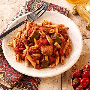 Italian Sausage Marinara with Penne