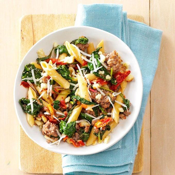 Italian Sausage Sun Dried Tomato Pasta Exps167253 Cw132791b04 23 3bc Rms 3