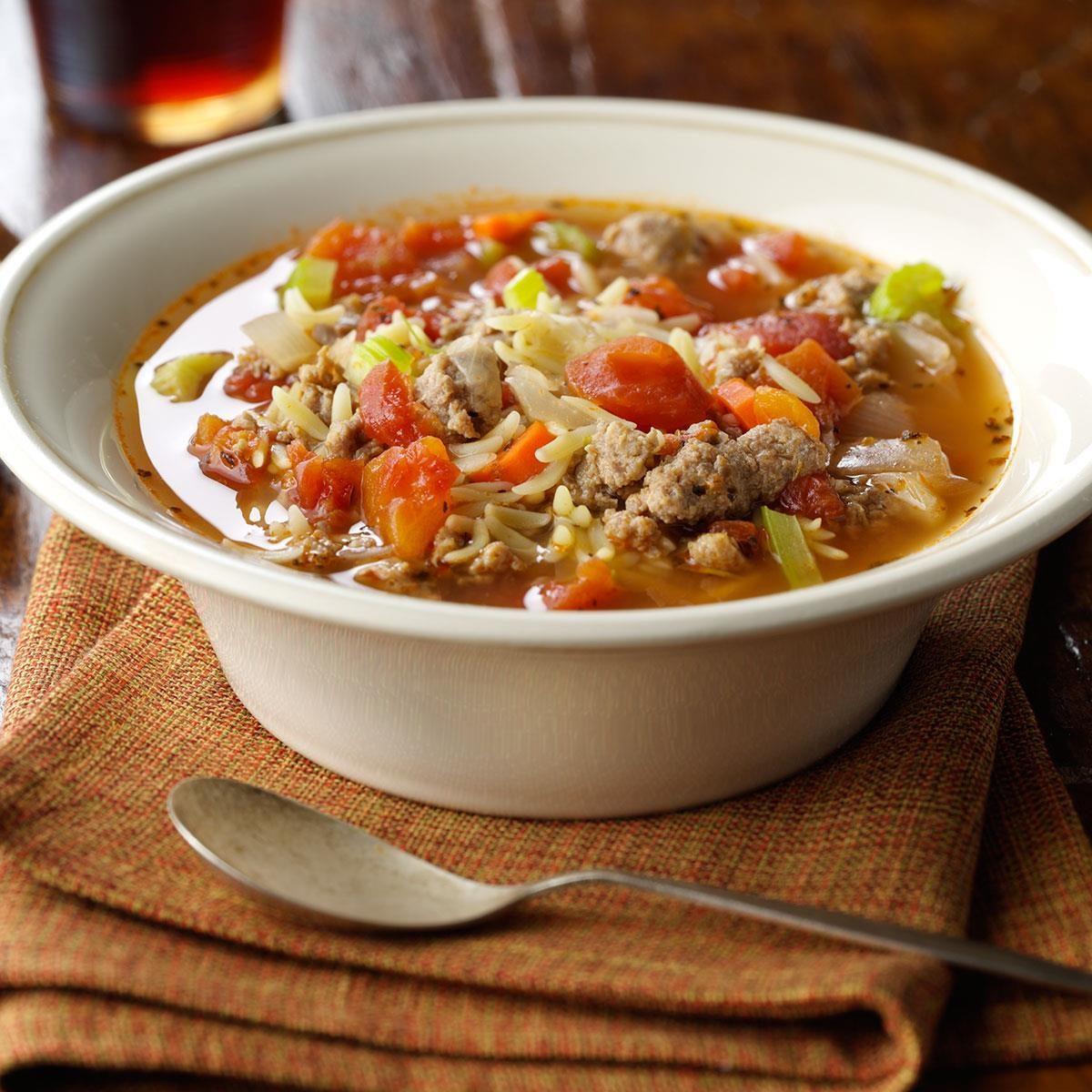 Italian Soup | Taste of Home