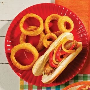 Italian Sausages with Provolone