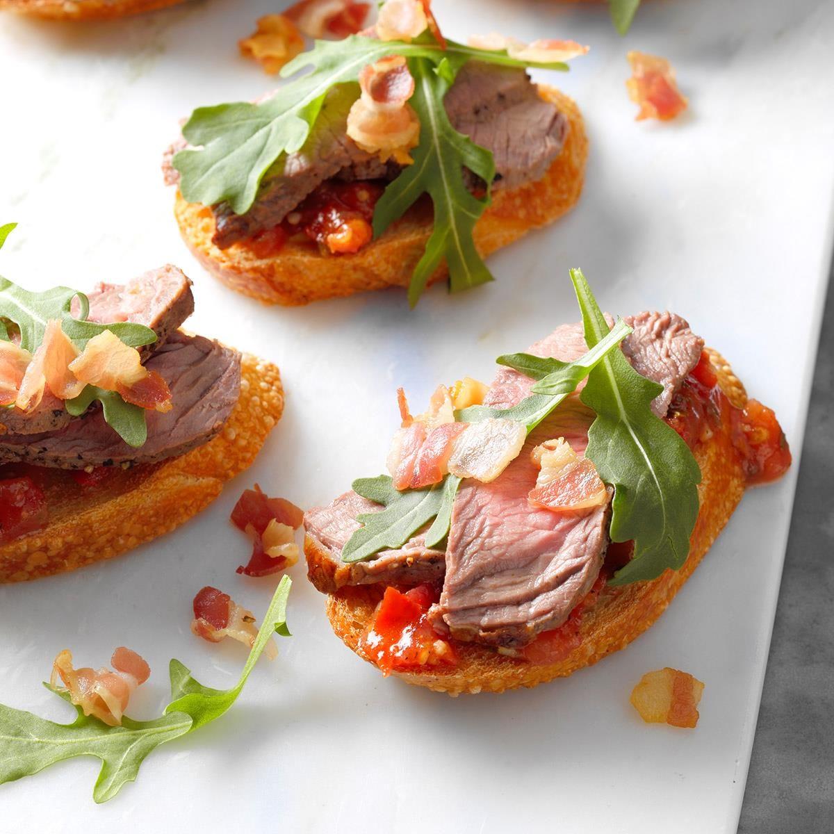 Italian Steak Bruschetta