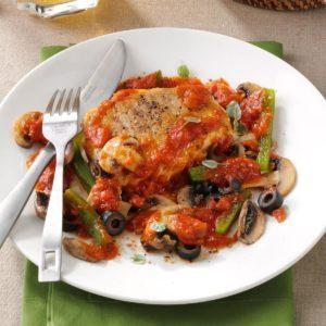 Italian-Style Pork Chops