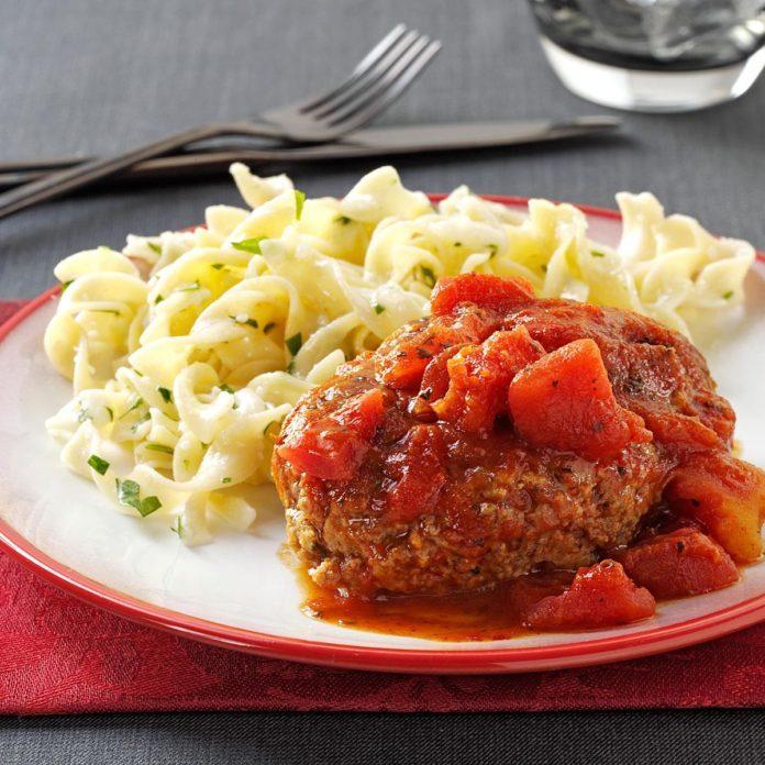 Italian-Style Salisbury Steaks