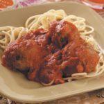Italian-Style Spaghetti with Meatballs