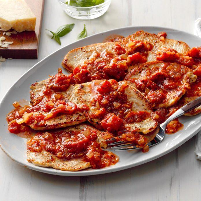 April: Italian Turkey Cutlets