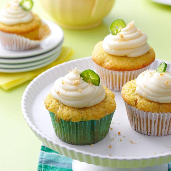 Jalapeno Popper Corn Cupcakes
