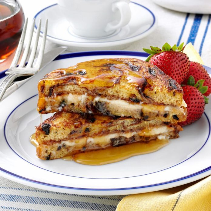 Jam 'n' Cream French Toast