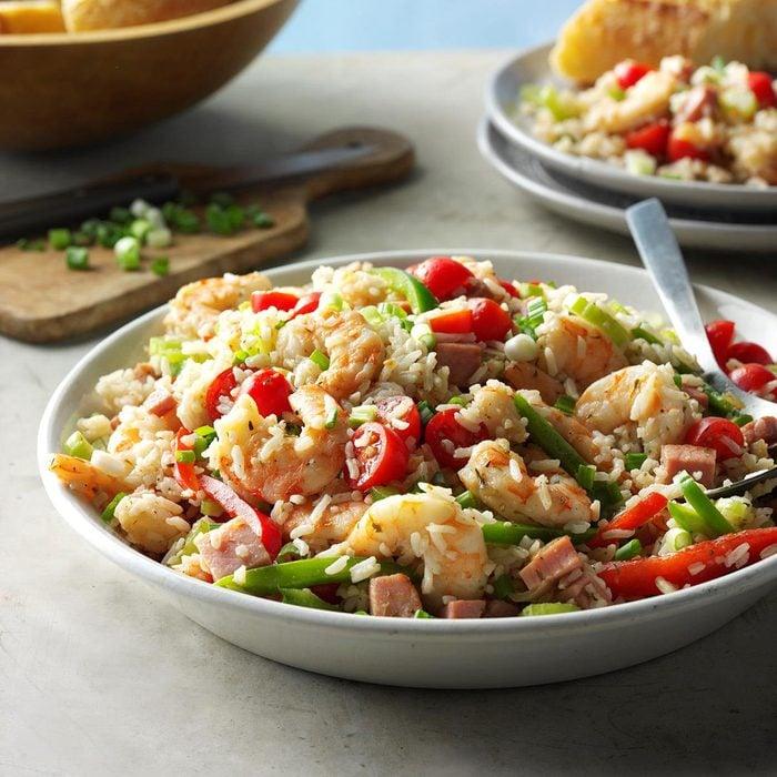 Jambalaya Rice Salad
