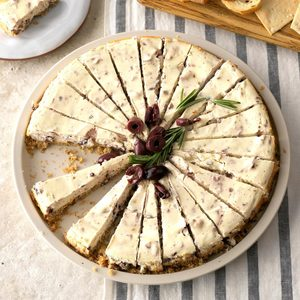 Kalamata Cheesecake Appetizer