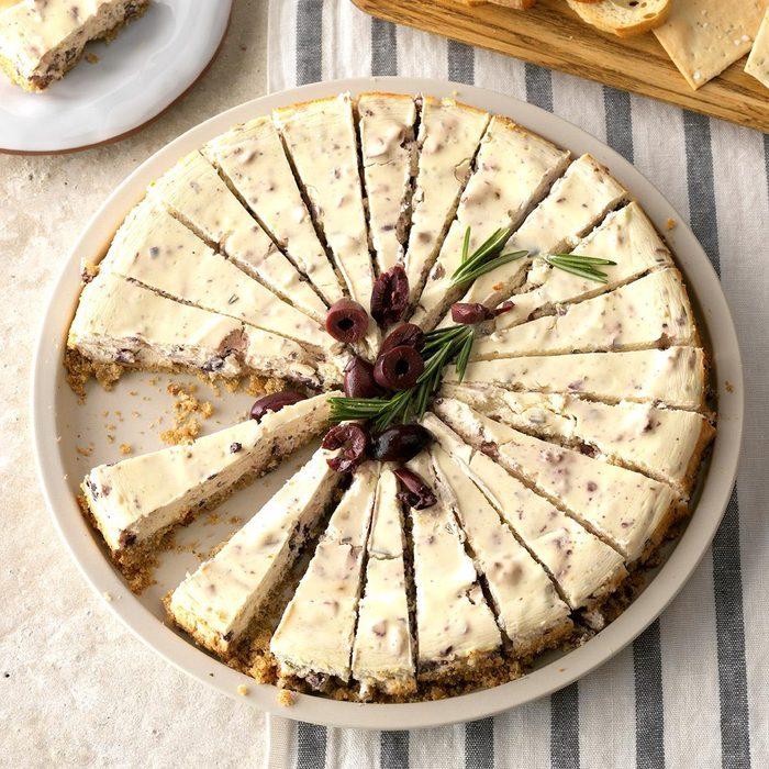 Kalamata Cheesecake Appetizer Exps Thca19 146229 C08 22 2b